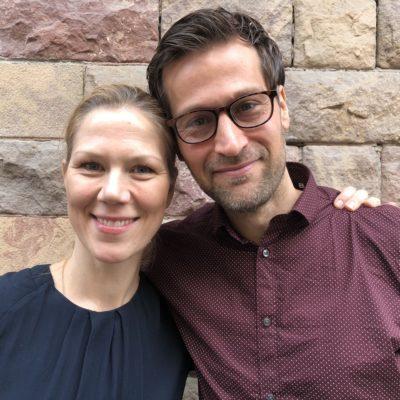 Minna Tunberger och Christian Benedict