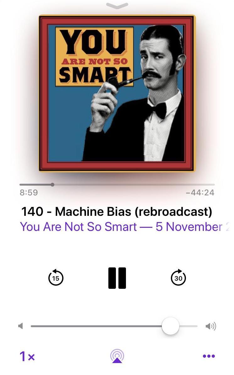 Machine-bias AI