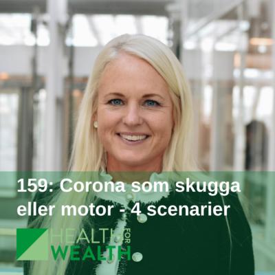 159: Corona som skugga eller motor – 4 scenarier