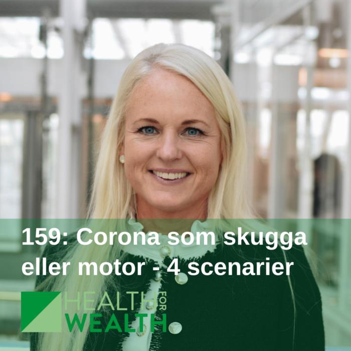 159 - Corona som skugga eller motor - 4 scenarier