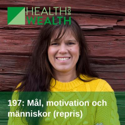 Sofie Lantto i podden Health for wealth